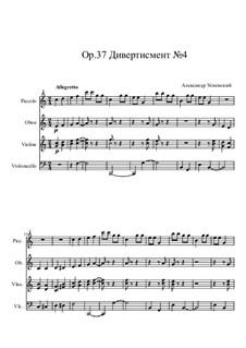Divertimento No.4, Op.37: Divertimento No.4 by Ksardas
