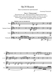 Week, Op.38: Week by Ksardas