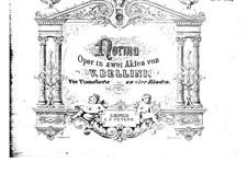 Complete Opera: Für Klavier, vierhändig by Vincenzo Bellini