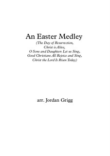 An Easter Medley (for solo horn and small ensemble): An Easter Medley (for solo horn and small ensemble) by Unknown (works before 1850)