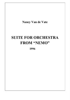 Suite for Orchestra from 'Nemo': Vollpartitur by Nancy Van de Vate