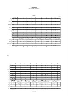 Little Suite (Grade .5 Band (K-5, and early Grade 6): Little Suite (Grade .5 Band (K-5, and early Grade 6) by Jordan Grigg