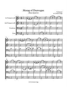 Morag of Dunvegan: Für Blechblasquartett by folklore