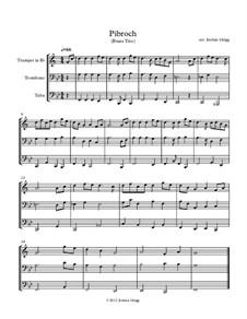 Pibroch: For brass trio by folklore