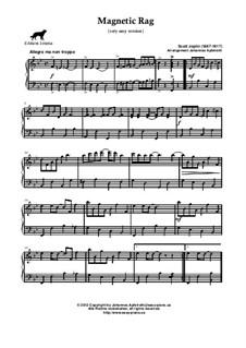 Magnetic Rag: Sehr leichte Fassung by Scott Joplin