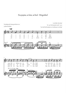 Eia popeia, so leise, so lind, Op.25 Nr.1: Eia popeia, so leise, so lind by Louis Spohr