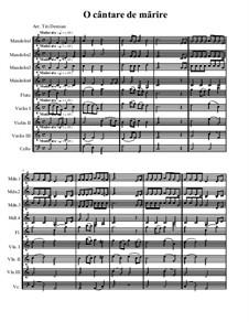 O cântare de mãrire: O cântare de mãrire by folklore