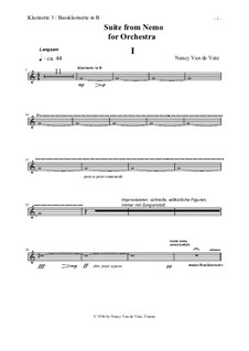 Suite for Orchestra from 'Nemo': Stimmen by Nancy Van de Vate