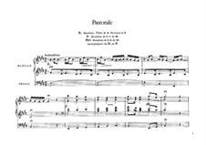 Sechs Stücke für Grosse Orgel: Pastorale, Op.19 by César Franck
