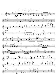 Romanze Nr.1 in Cm, Op.34: Romanze Nr.1 in Cm by Werner Schneider-Wiegand