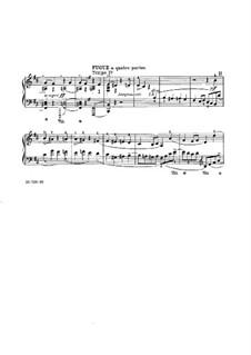 Präludium, Choral und Fuge, FWV 21: Fuge by César Franck