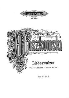 Frühling, Op.57: Nr.5 Liebeswalzer by Moritz Moszkowski