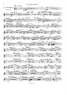 Streichquintett Nr.1 in C-Dur, Op.56: Violinstimme I by Giuseppe Ghébart