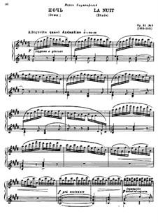 Drei Etüden, Op.31: Etüde Nr.3 by Alexander Glazunov
