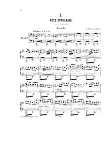 Der Kreml, Op.30: Für Klavier, vierhändig – Stimmen by Alexander Glazunov