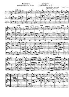 Divertimento in D-Dur. Allegro: Divertimento in D-Dur. Allegro by Leopold Mozart