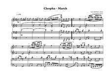 Cleopha: Für Klavier, vierhändig by Scott Joplin
