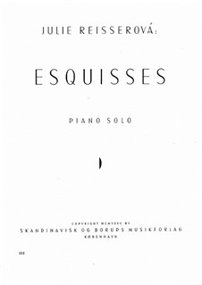 Esquisses: Esquisses by Julie Reisserová