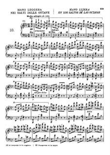 Die Kunst der Fingerfertigkeit, Op.740: Übungen Nr.33-41 by Carl Czerny