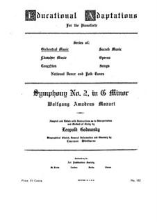 Vollständiger Teile: Bearbeitung für Klavier von L. Godowsly by Wolfgang Amadeus Mozart