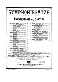 Sinfonie Nr.104 in D-Dur 'London', Hob.I/104: Teil I, für Harmonium und Klavier by Joseph Haydn