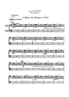Vollständige Suite: Schlagstimmen by Gustav Holst