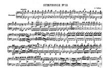 Sinfonie Nr.88 in G-Dur, Hob.I/88: Version für Klavier, vierhändig by Joseph Haydn