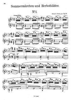 Sommermärchen und Herbstblätter, Op.39: Stücke Nr.1-2 by Robert Fuchs