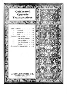 Fantasie über Themen aus 'Faust' von Gounod, Op.35: Für Klavier by Joseph Leybach