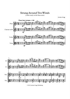 Strung Around Two Winds (a little study on the blues scale): Strung Around Two Winds (a little study on the blues scale) by Jordan Grigg