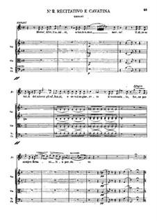 Ernani: Rezitativ und Kavatine by Giuseppe Verdi