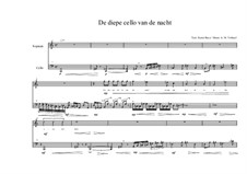 Song for Soprano and Cello Based on a Poems of Karin Boye: No.0a (Dutch text), MVWV 53 by Maurice Verheul