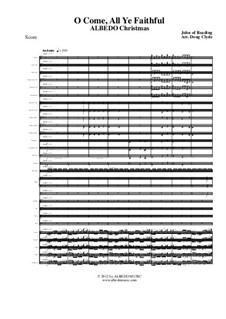 Nun freut euch, ihr Christen: Für Chor und Symphonieorchester, AMSM74 by John Reading