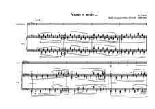 Songs for counter-tenor. Based on a poem of Albert Samain: Song No.4, MVWV 313 by Maurice Verheul