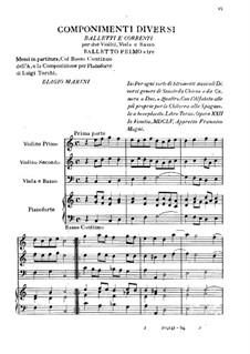 Componimenti Diversi: Teil II by Biagio Marini