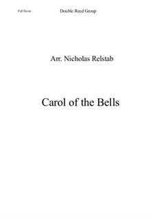 Carol of the Bells: For chamber orchestra by folklore