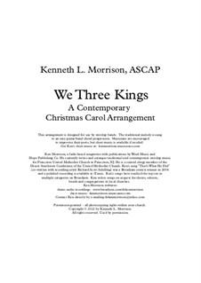 We Three Kings of Orient are: Für Stimme und Klavier by John H. Hopkins Jr.