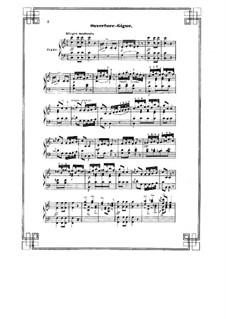 Le roman d'Arlequin: Für Klavier by Jules Massenet