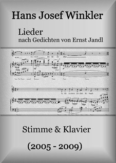Lieder nach Gedichten von Ernst Jandl: Für stimme und Klavier by Hans Josef Winkler