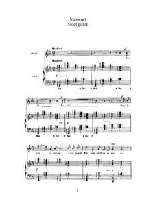 Noël païen: Für hohe Stimme und Klavier by Jules Massenet