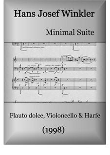 Minimal Suite: Minimal Suite by Hans Josef Winkler