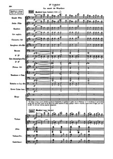 Werther: Akt III Szene II, Akt IV by Jules Massenet