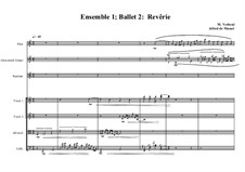 Rêverie, Ballet No.2 for string quartet, guitar, flute and soprano based on a poem of A. de Musset, MVWV 58: Rêverie, Ballet No.2 for string quartet, guitar, flute and soprano based on a poem of A. de Musset by Maurice Verheul
