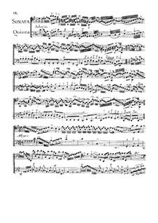 Sonate für zwei Сellos Nr.5 in D-Dur: Sonate für zwei Сellos Nr.5 in D-Dur by Jean Baptiste Masse