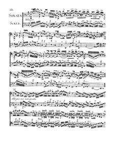 Sonate für zwei Сellos Nr.6 in C-Dur: Sonate für zwei Сellos Nr.6 in C-Dur by Jean Baptiste Masse