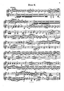 Zwölf kleine Duette für zwei Violinen, Op.38: Duet Nr.9 by Jacques Féréol Mazas