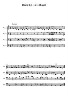 Deck the Hall: Für gemischten Chor by folklore