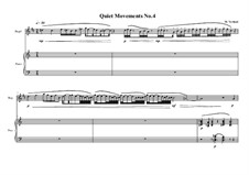 Quiet Movements: No.4 for flugelhorn (bugle) and piano, MVWV 609 by Maurice Verheul