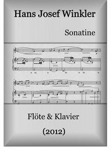 Sonate (2012): Für Flöte und Klavier by Hans Josef Winkler