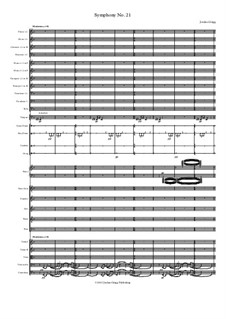 Symphony No.21: Symphony No.21 by Jordan Grigg